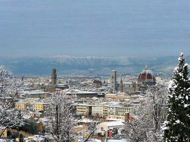 ¿Una ciudad que ver en italia en invierno? ¡Florencia!