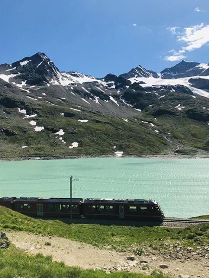 Italia en Invierno, Bernina Express