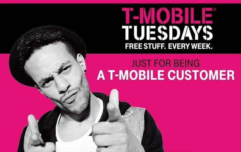 Regalos Gratis Hoy Martes con T-Mobile Tuesdays (8/22/2017 )