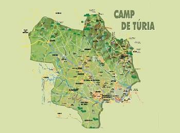 Comarca Camp de Túria - Llíria