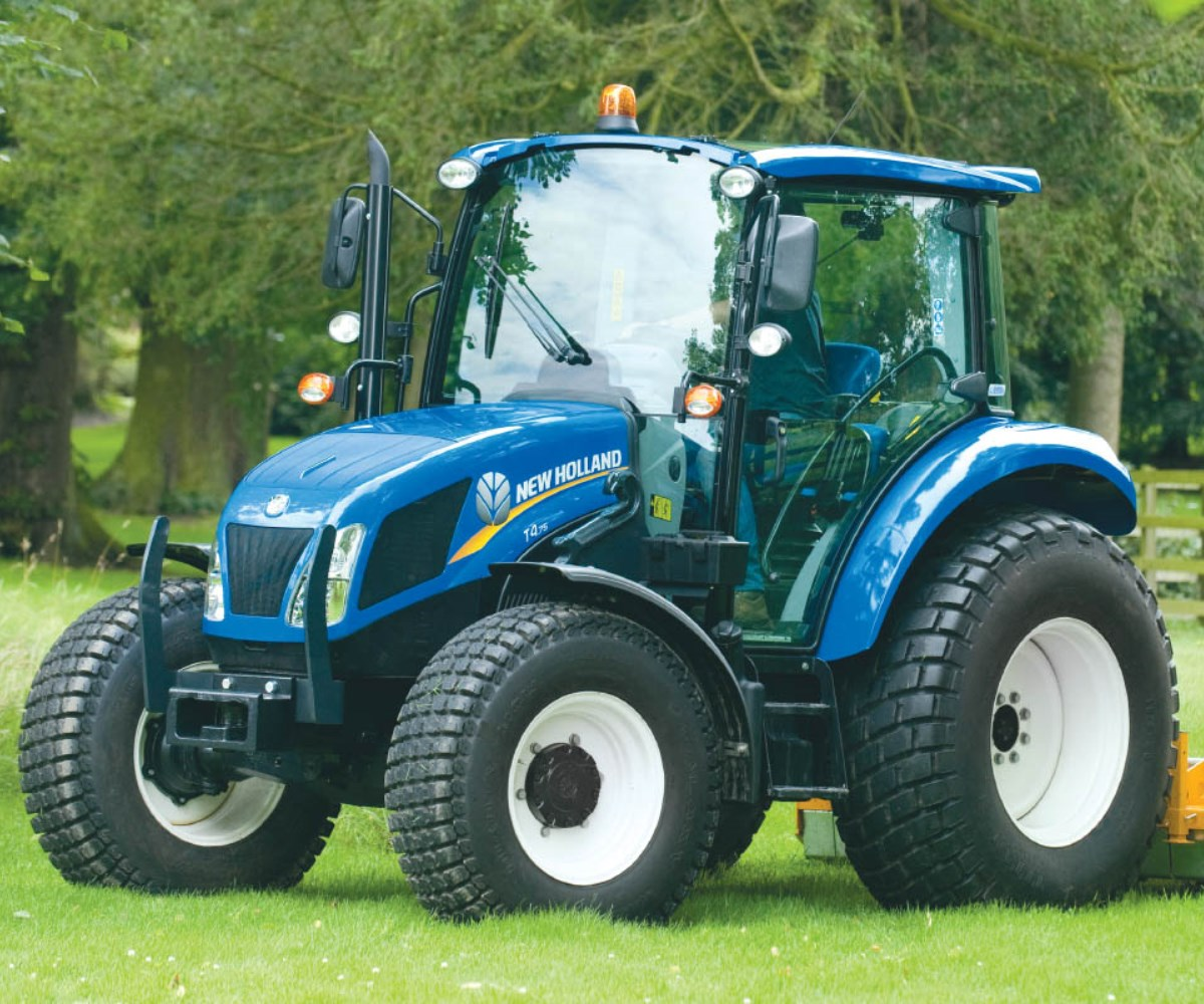 New holland's boomer 24 to 55. New Holland Tractors Lloyd Ltd