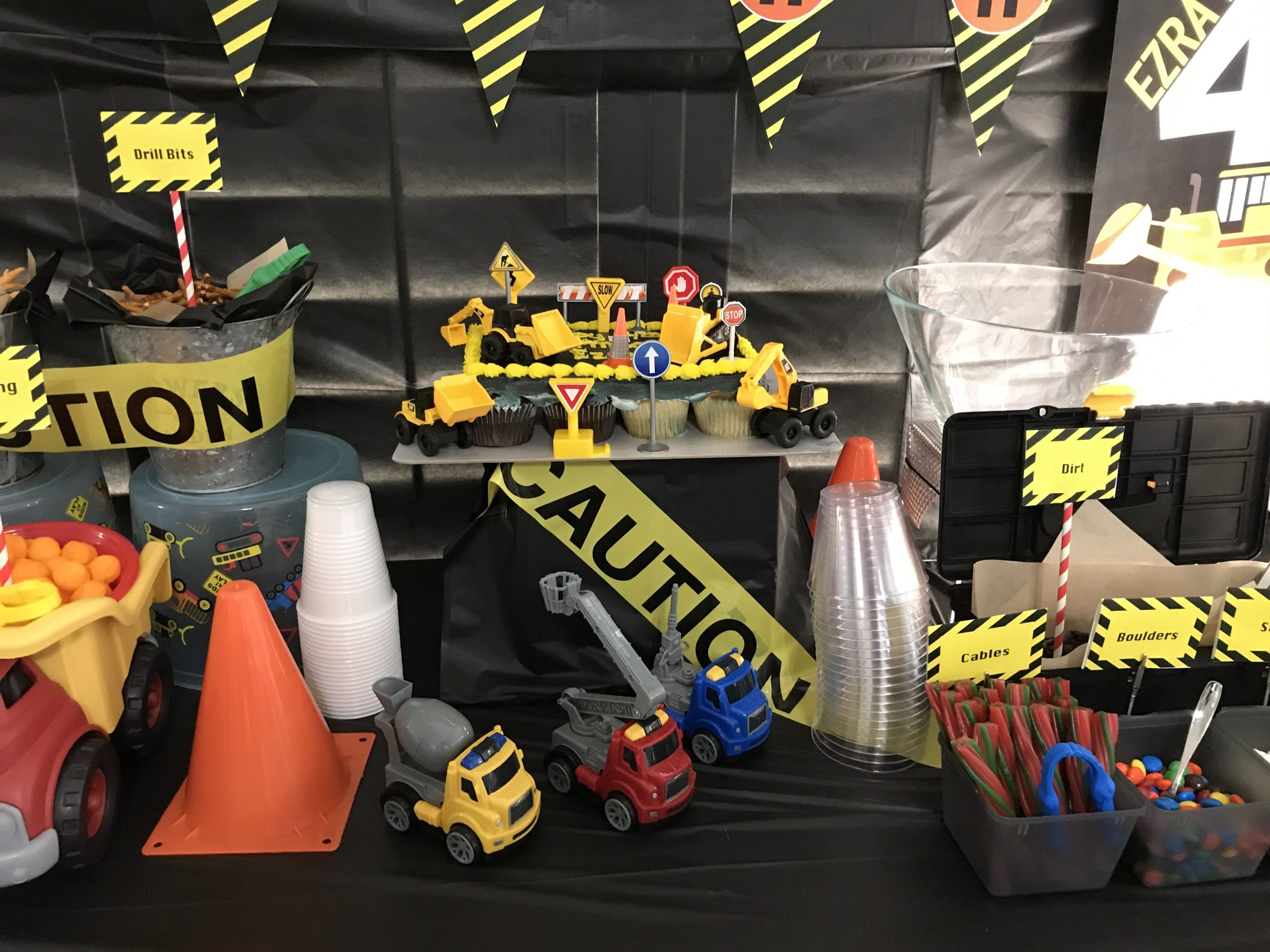 Construction Party theme