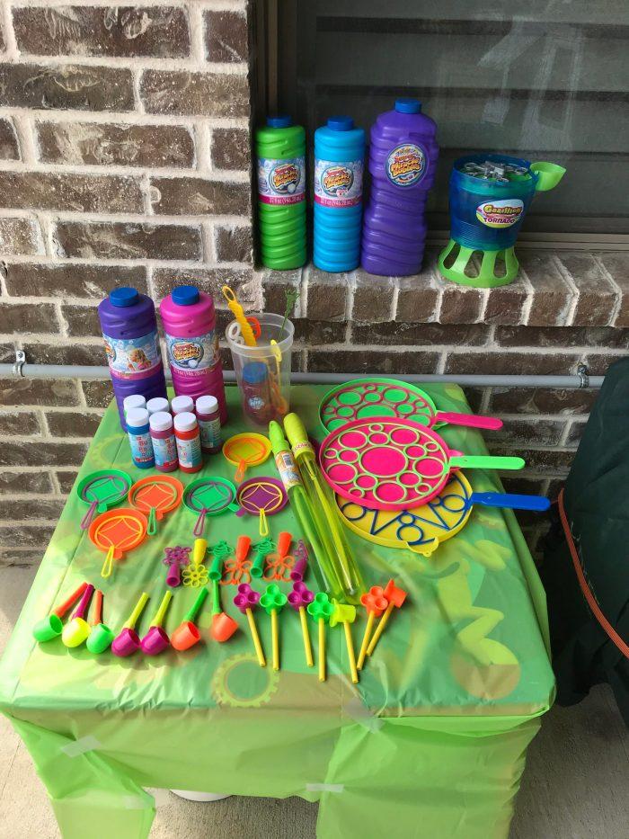 Party outdoor activities