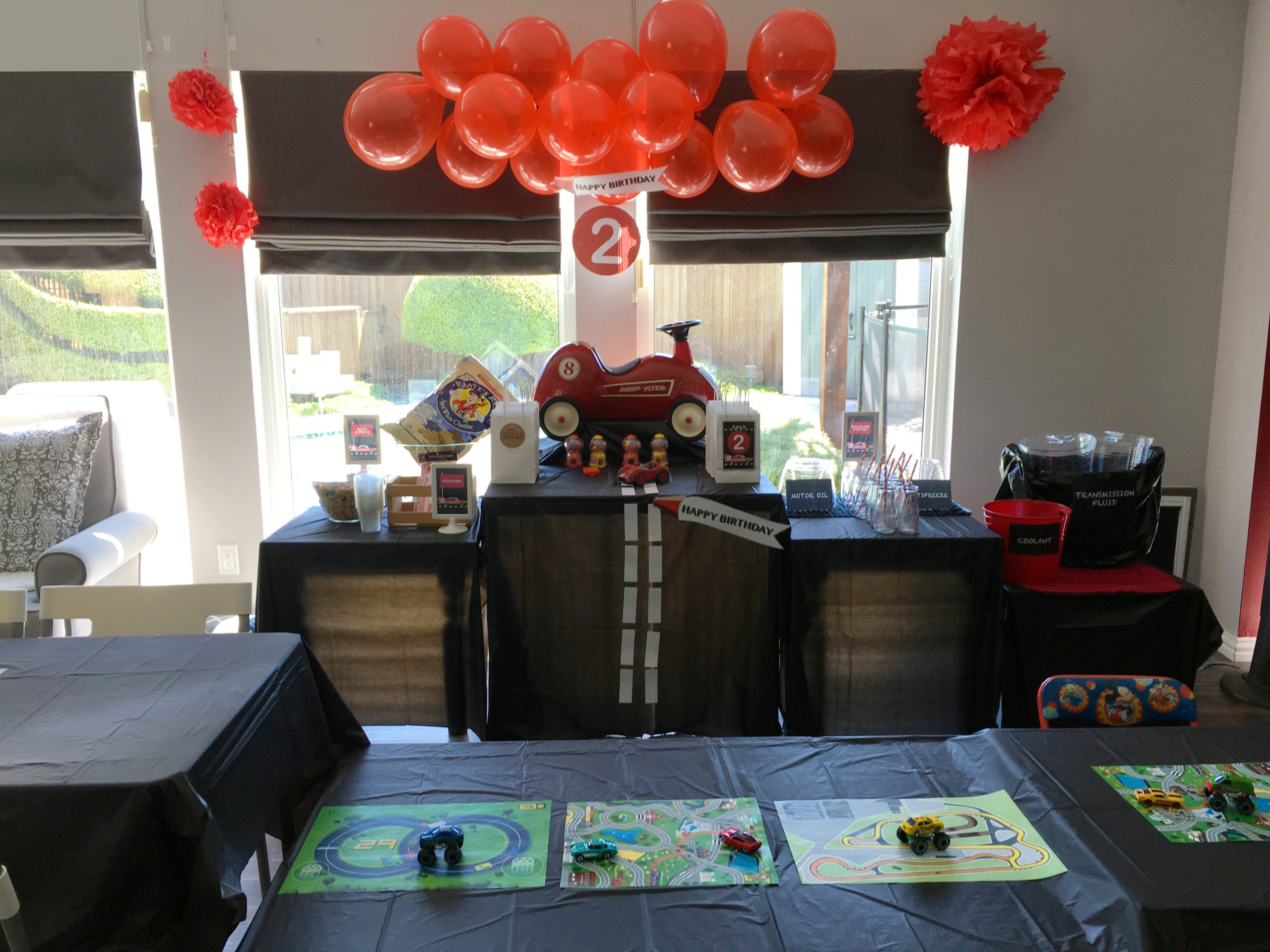 Vintage Race Car Birthday Party