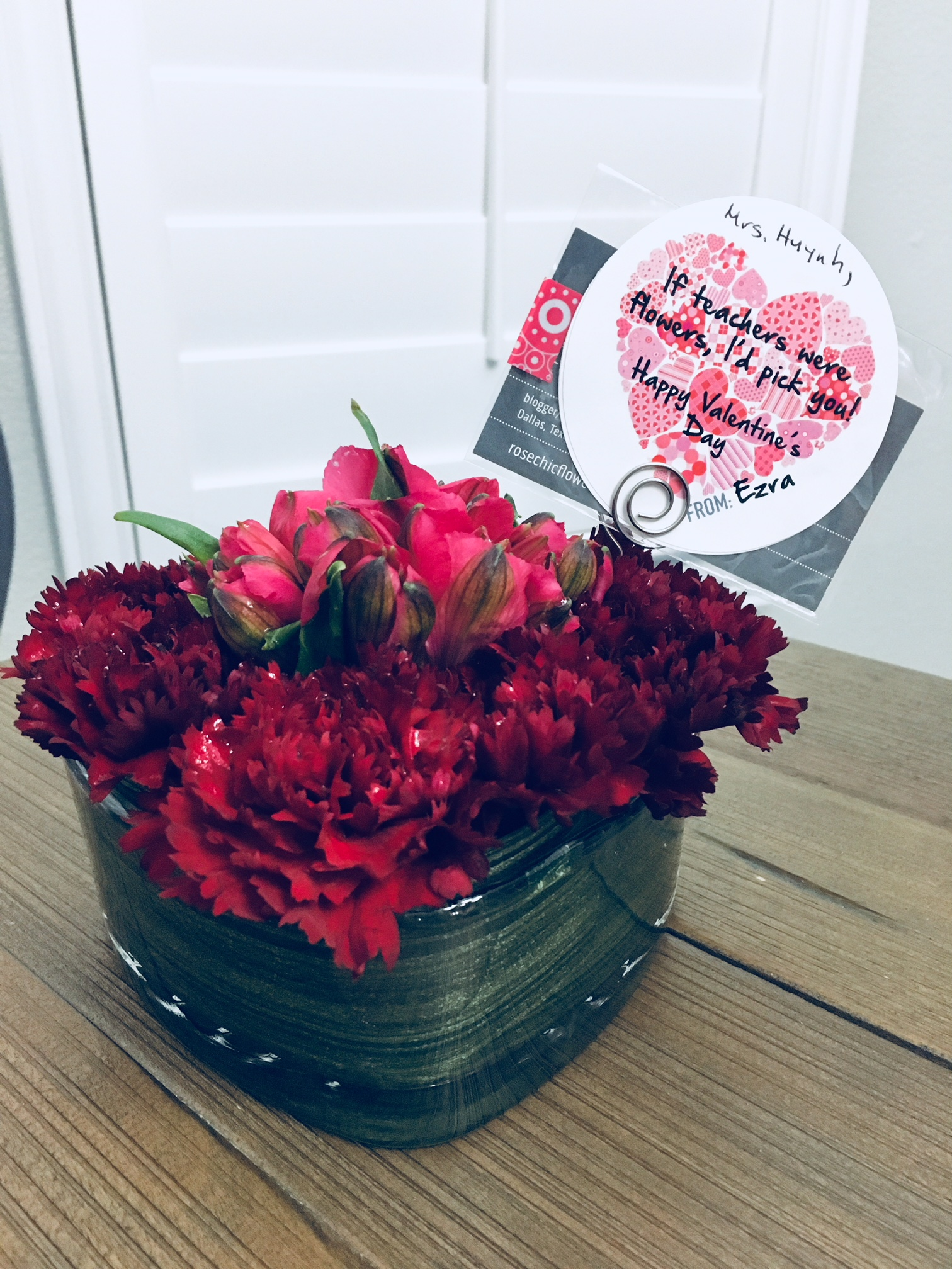 Teacher Valentine gifts, Teacher Appreciation ideas, DIY teacher gifts