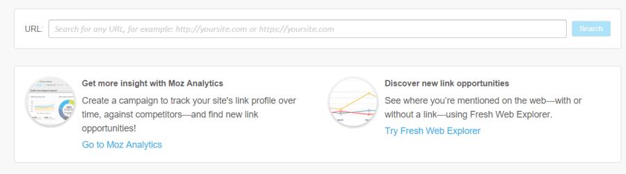 Herramientas de análisis SEO: Moz Open Site Explorer