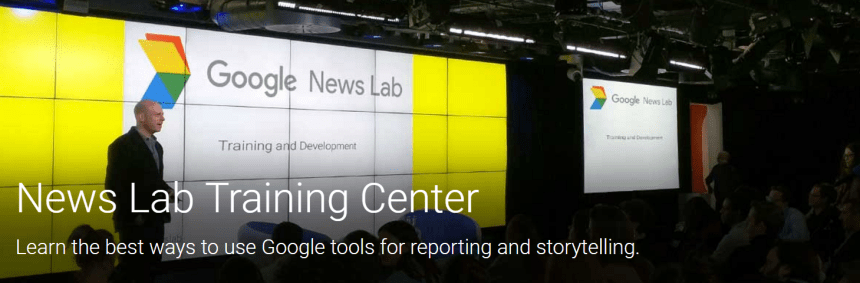 Google News Lab Training Center