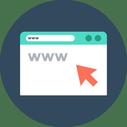 navegación en contenidos web