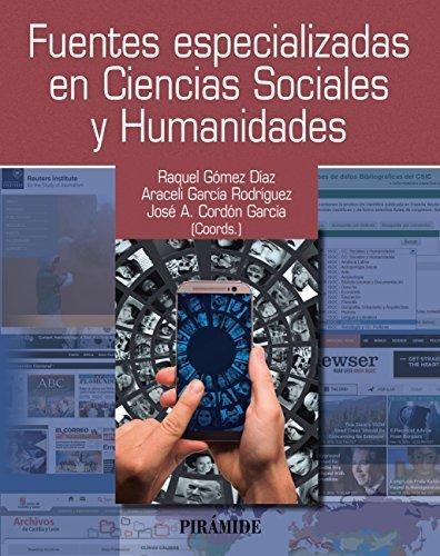 Portada libro sobre Fuentes especializadas en Ciencias Sociales y Humanidades