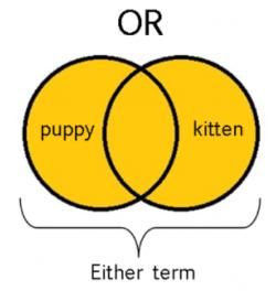 Diagrama de Venn: operador OR