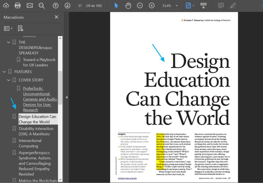 Un artículo de una revista de la ACM DL.
