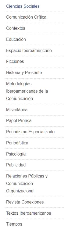Taxonomía de Colecciones  del catálogo de la editorial