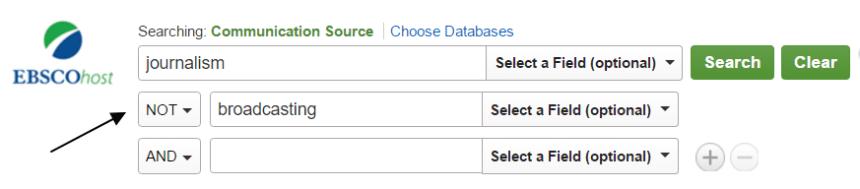 Ecuaciones de búsqueda en la base de datos Ebsco