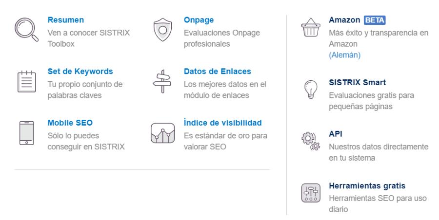 Componentes de Sistrix