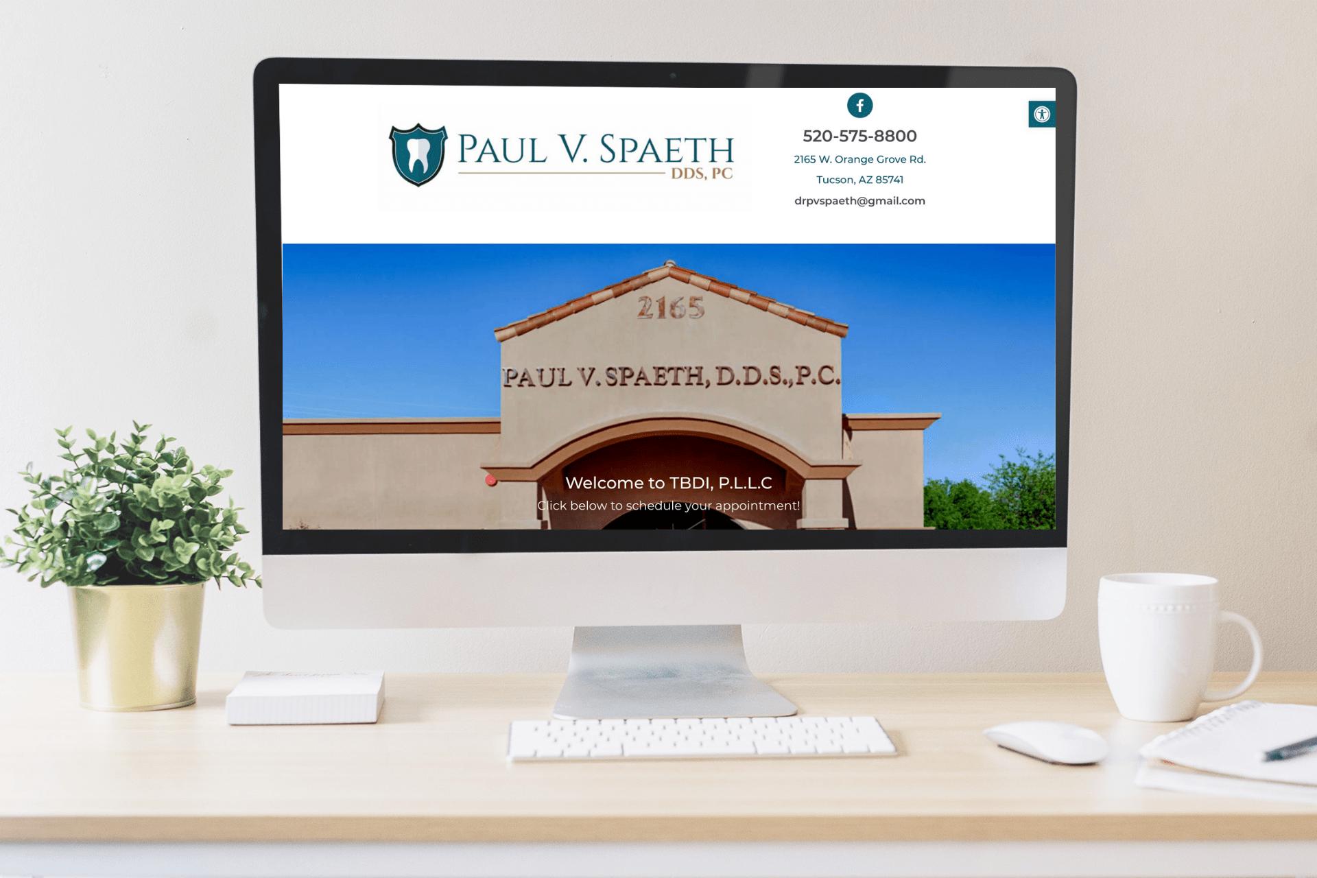 website design portfolio project
