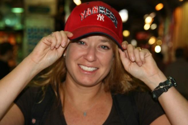 Yankees Girl cap