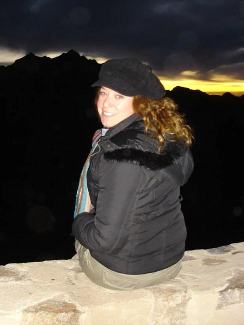 Lisa on Mt Sinai