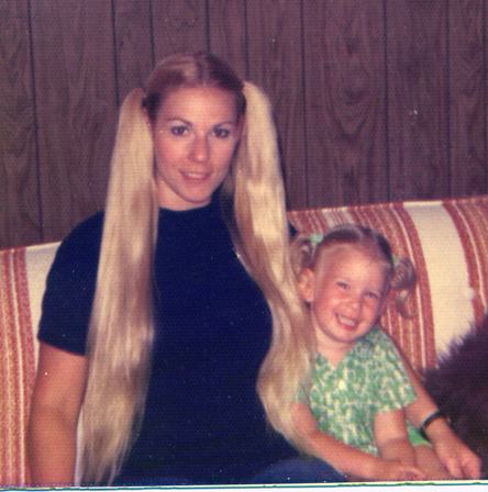 Lisa & Mom in 1975