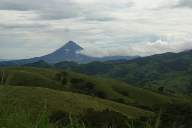 The drive to Arenal