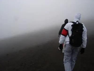 The Misty Climb...