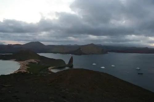 View near Pinnacle Rock