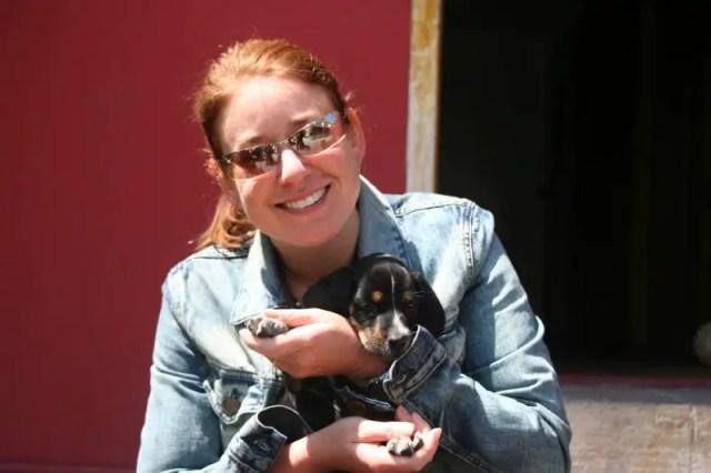 Me & Hostel Puppy