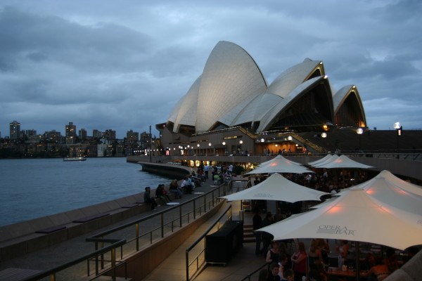 Harbour & Opera House