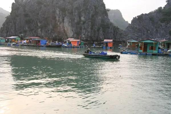 It takes a fishing village