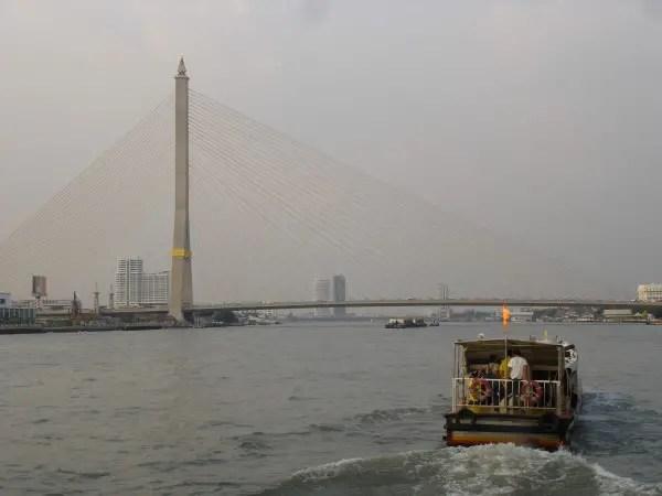 Bridge across the Chao Phrao River