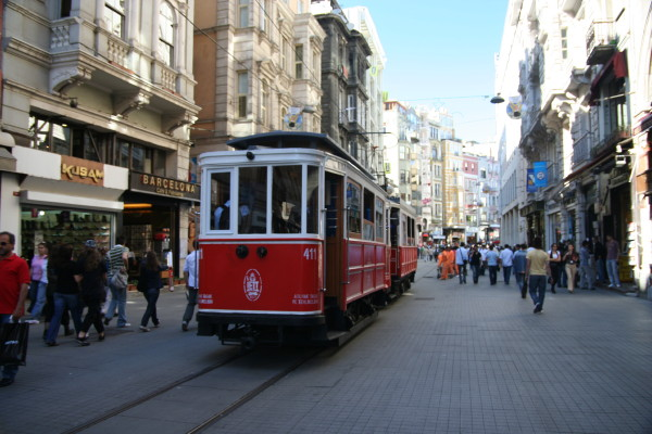 The Old Trolley Car