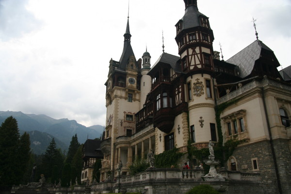 Castle in Sinaia