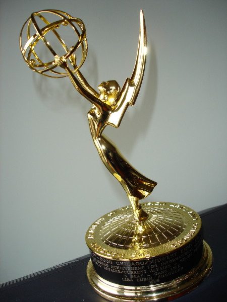Oh, did I mention I won my 3rd Emmy while away?