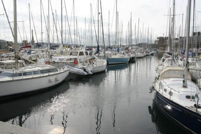 St Malo Harbour