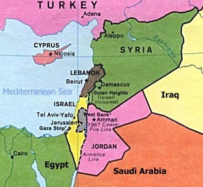 Facts about israel and judaism around the world israel her neighbors gumiabroncs Choice Image