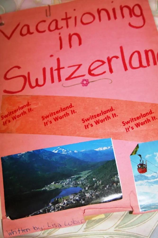 Come to Switzerland!