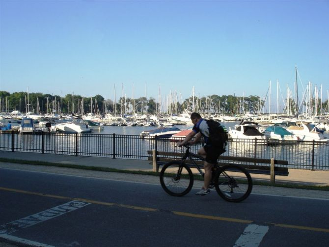 Chicago Lakefront Cycling