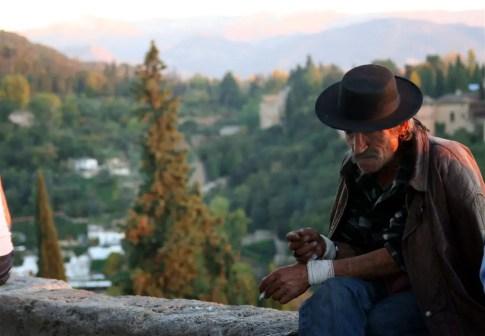Modern Day Don Quixote in Granada