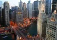 Photo of the Day: Chicago at Dusk