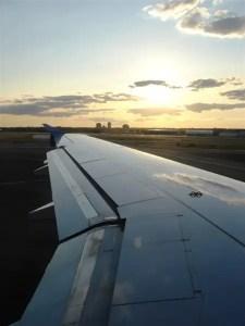 Sunset @ EWR - Newark Airport