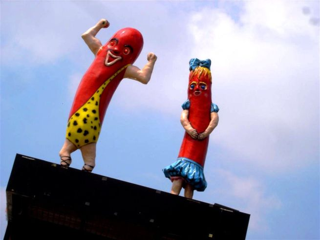 Hot Dogs on a Hot Tin Roof