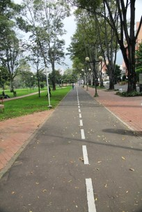 Bogota Bike Path