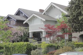 Gorgeous homes/landscaping of Kitsilano