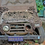 Old Jeep Art