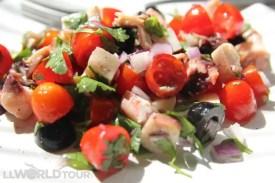 Pulpo Salad