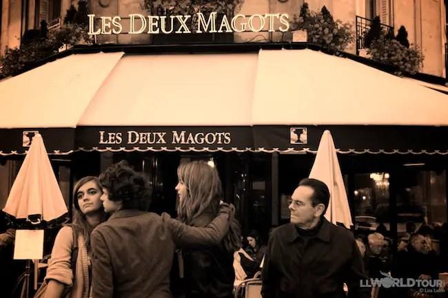 Les Deux Magots - St. Germaine, Paris