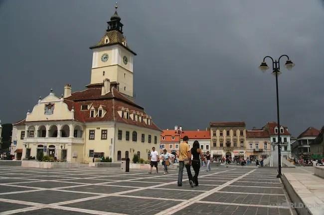 Brasov, Romania Square