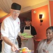 Chef Roland - Charlotte Lane Cafe - Shelburne, Nova Scotia