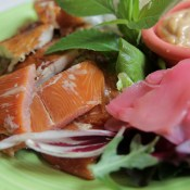 Fish Sampler - Charlotte Lane Cafe - Shelburne, Nova Scotia