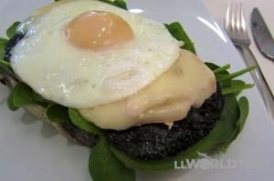 Egg & Portobello Sandwich
