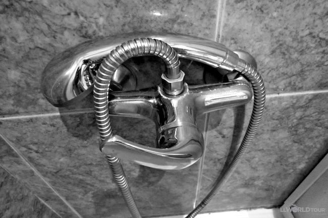 Shower Head with No Holder